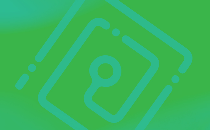 Green illustration
